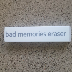 How to Erase Bad Memories